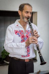 Miroslav Tipek - klarinet, saxofon, zobcová flétna